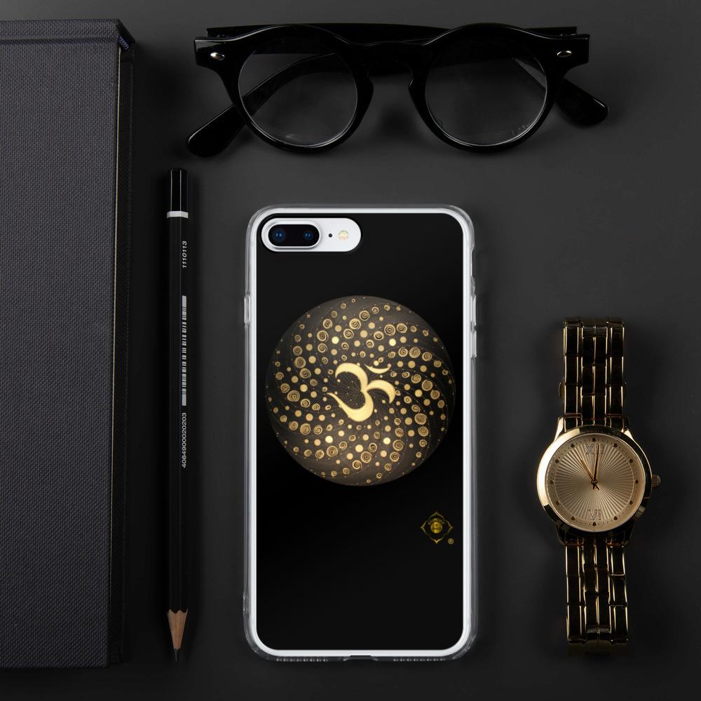 "Handyhülle iPhone ""Gold OM"""