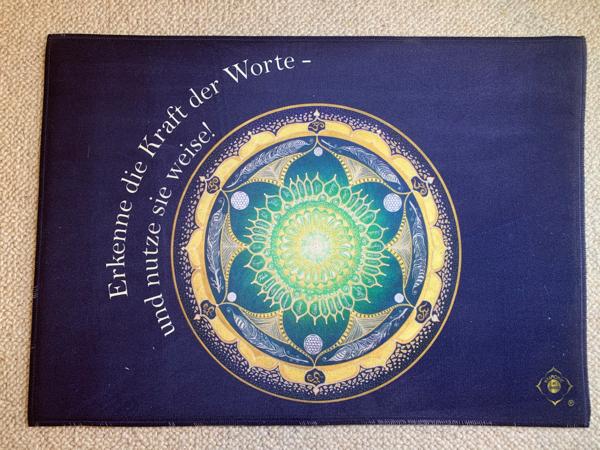 Teppich Harmonie im Ganzen® Kraft der Worte_Front